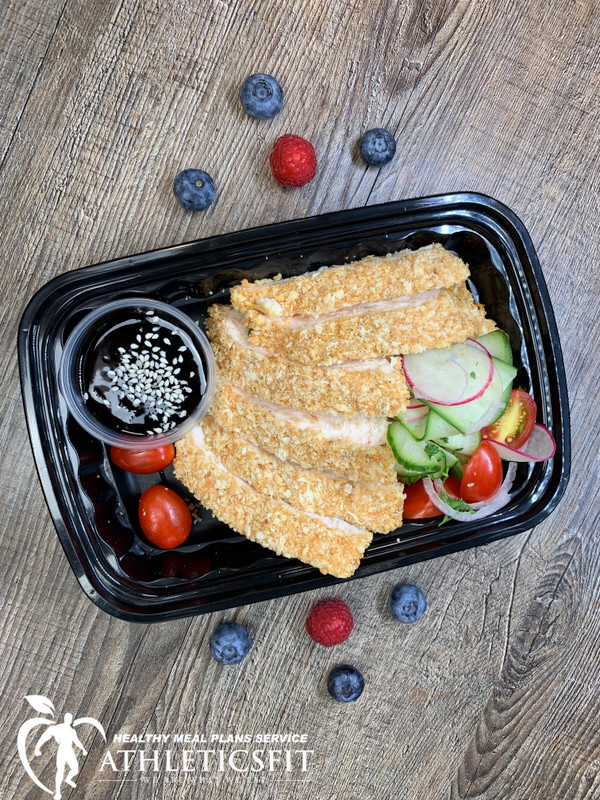Oven Crusted Chicken breast