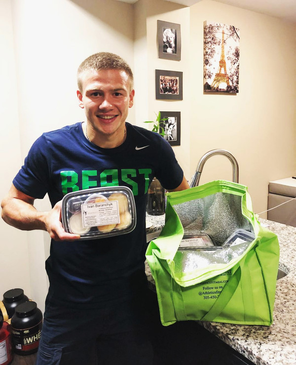 Professional boxer - @Ivan_baranchyk