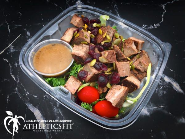 Flank Steak Kale Salad