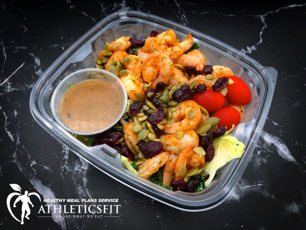 Shrimp Kale Salad