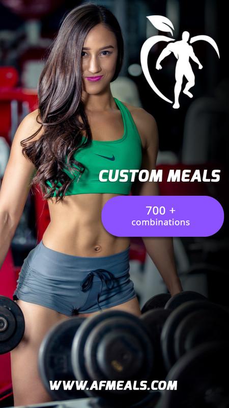 Healthy Custom Meals - Over 500 Healthy Combinations