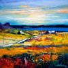 Autumn Light at Kilchattan, Isle of Colonsay (Large) - Mounted