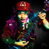 Angus Young AC/DC (Print Only) Authorised Edition by Patrice Murciano
