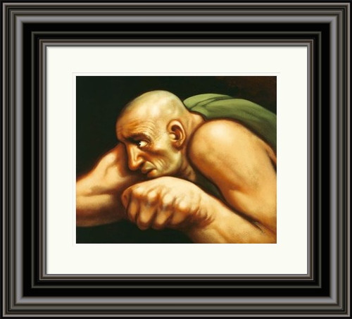 Boxer II by Peter Howson