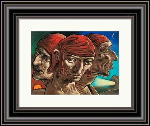 The Mind of Dante by Peter Howson