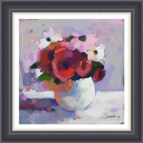 Red Posy - Extra Large
