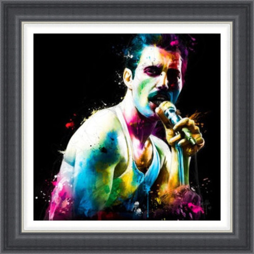 The Show Must Go On (Freddie) Bohemian Rhapsody by Patrice Murciano - Extra Large