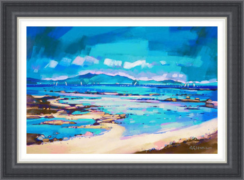 Coastal Blues, Arran - Extra Large