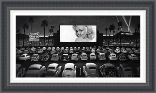 Marilyn at the Drive-In