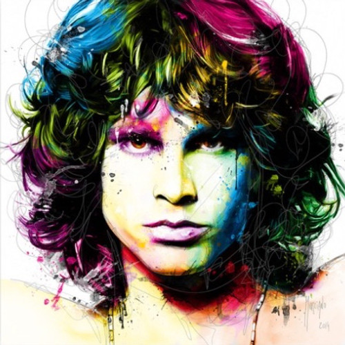 Jim Morrison (Print Only) Authorised Edition by Patrice Murciano