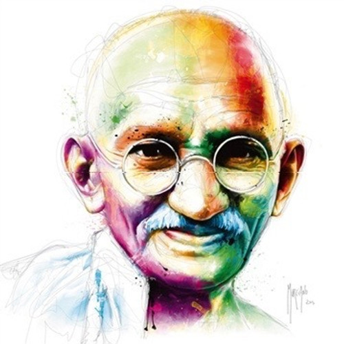 Gandhi (Print Only) Authorised Edition by Patrice Murciano