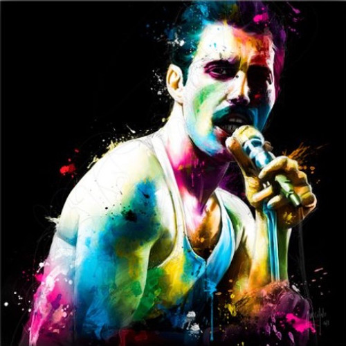 The Show Must Go On (Freddie) Bohemian Rhapsody (Print Only) Authorised Edition by Patrice Murciano