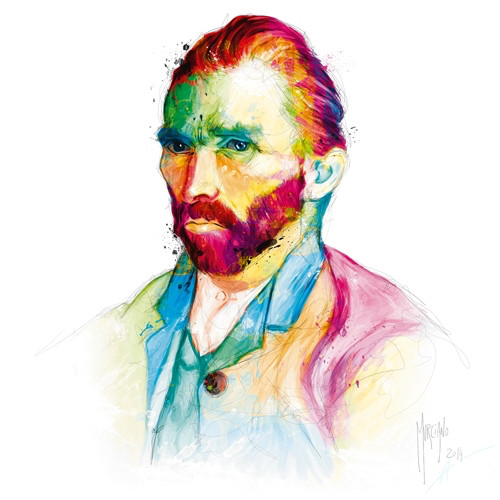Van Gogh (Print Only) Authorised Edition by Patrice Murciano