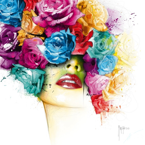 La Vie En Rose (Print Only) Authorised Edition by Patrice Murciano