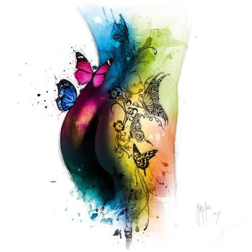Butterfly Tattoo (Print Only) Authorised Edition by Patrice Murciano