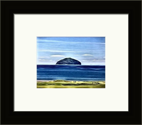 Ailsa Craig, West Coast Scotland - Petite