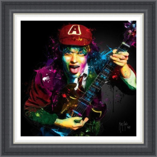 Angus Young AC/DC by Patrice Murciano - Extra Large