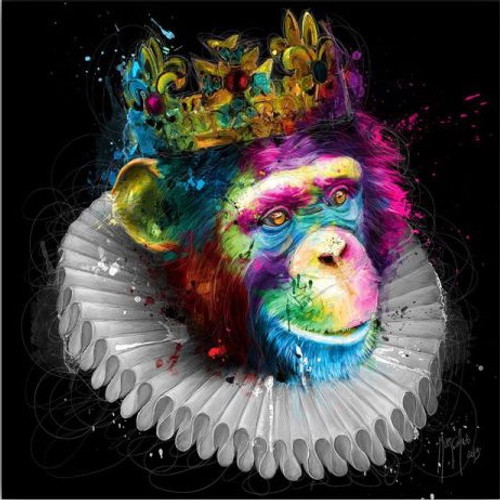 Monking (Print Only) Authorised Edition by Patrice Murciano
