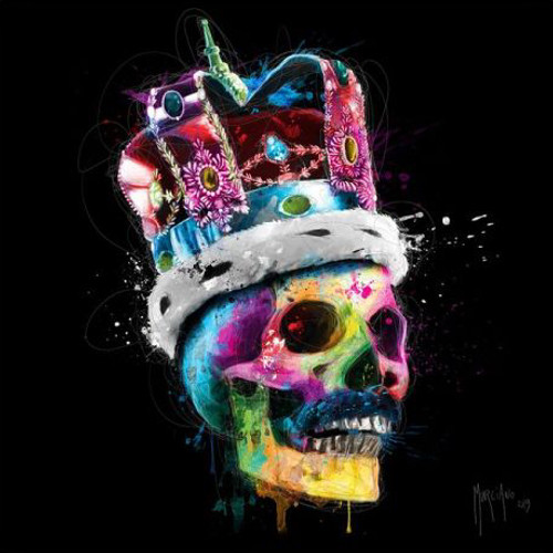 Freddie Mercury Skull (Print Only) Authorised Edition by Patrice Murciano