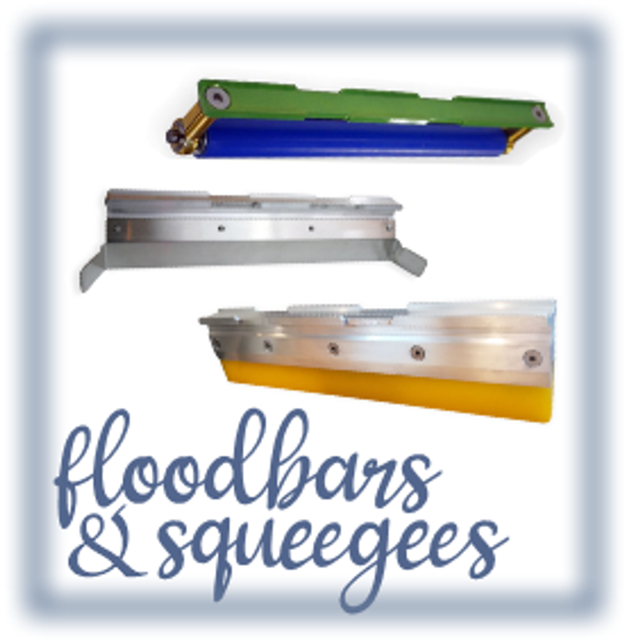 Flood Bars and Squeegee Holders