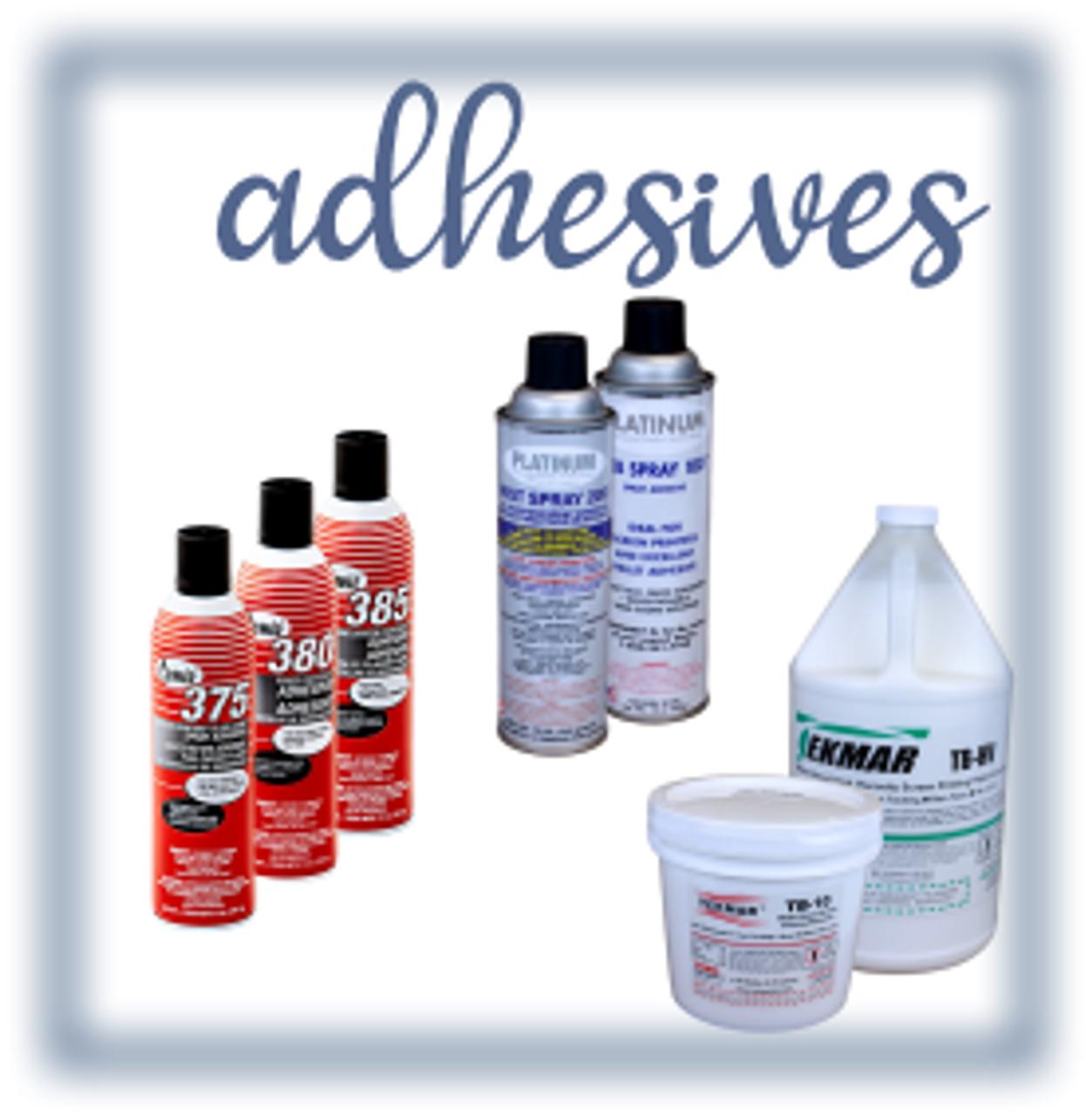 Adhesives & Sprays