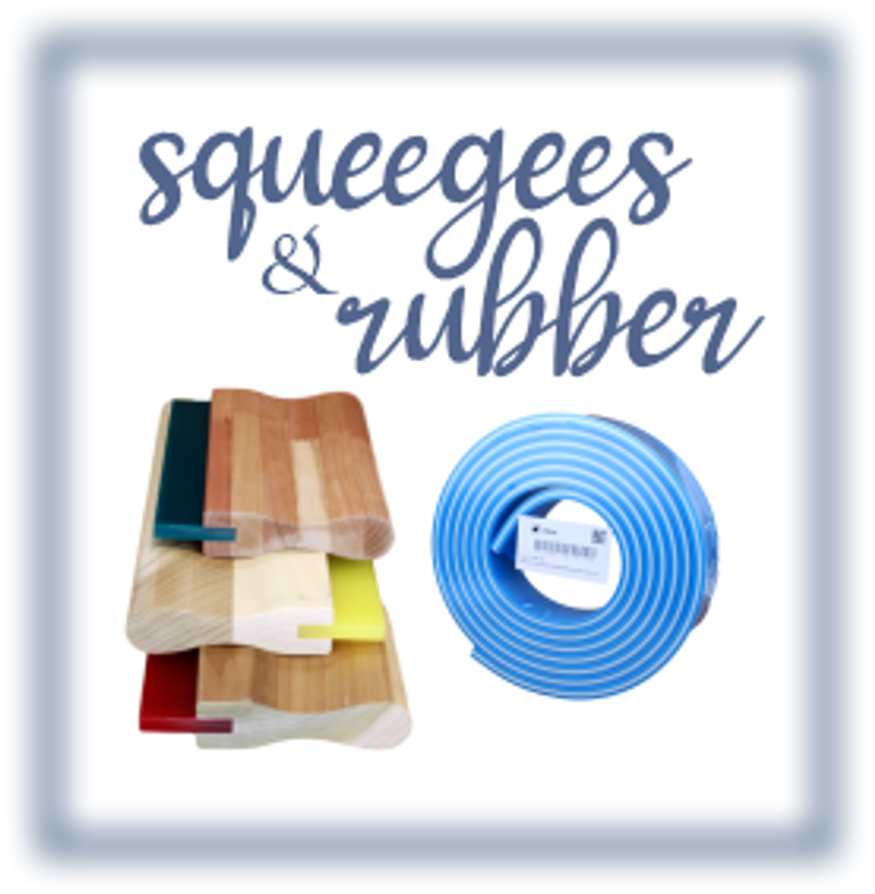 Squeegees/ Handles / Rubber / Clamps