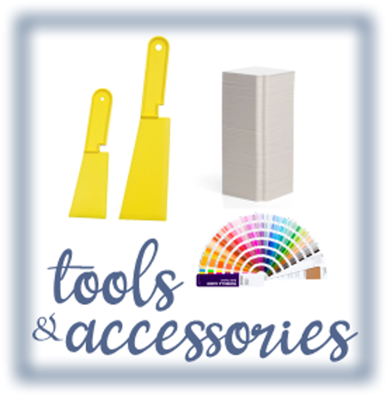 Ink Tools / Buckets / Spatulas / Accessories