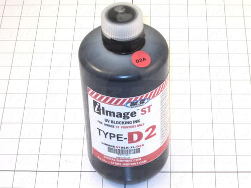 M&R - Black UV-Blocking Ink Type D2A 1 liter