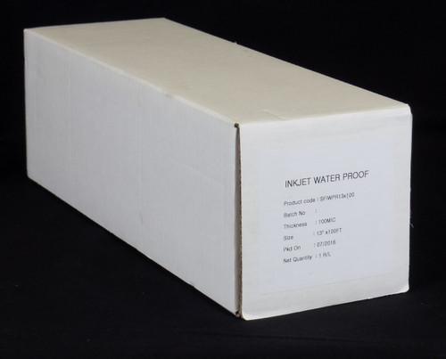 "Premium Waterproof Inkjet Film 13"" x 100' roll"