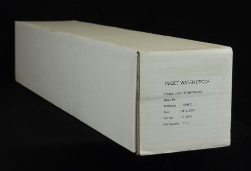 "Premium Waterproof Inkjet Film 24"" x 100' roll"