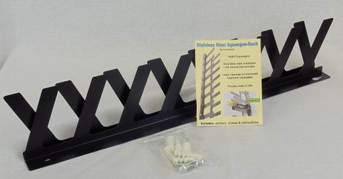 Wall Mount Screen Coating Rack - Bracket Kit