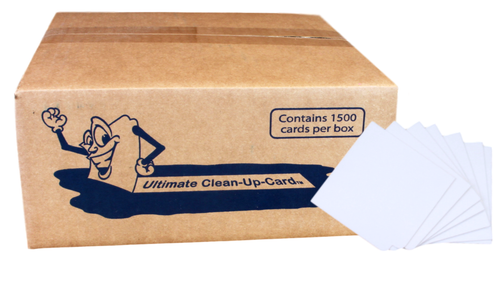 The Ultimate Clean Up Card ..(1500 cards per case)