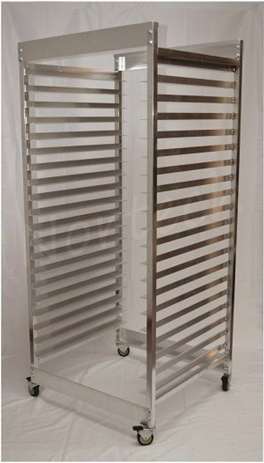 SCREEN RACK - HOLDS 20 SCREENS (20x24 and 23x31); WITH RUBBER WHEEL CASTERS