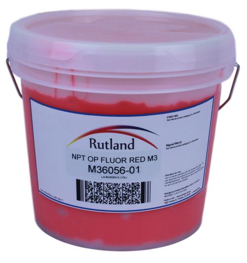 RUTLAND NPT OPAQUE FLUOR RED M3