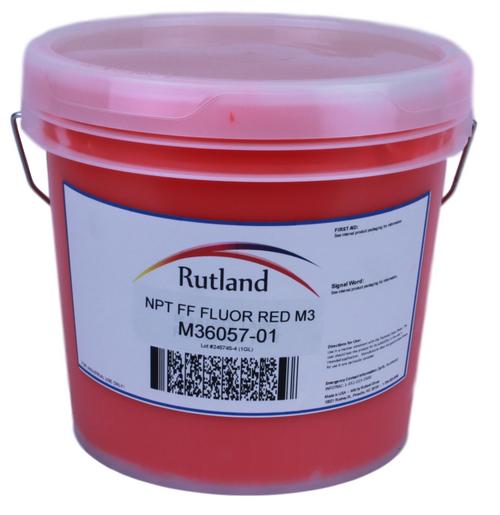 RUTLAND NPT FF FLUOR RED M3