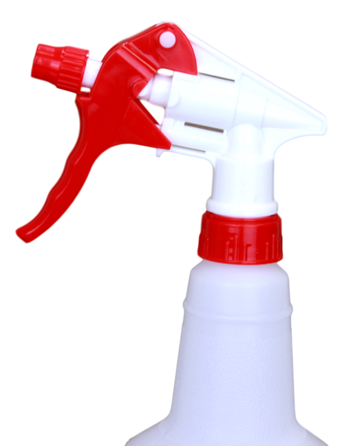 "USP-HD Spray Nozzle, Red & White w/9 1/4 "" dip tube"