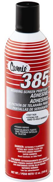 Camie 385 Screen Printer's WEB Adhesive-Per Can