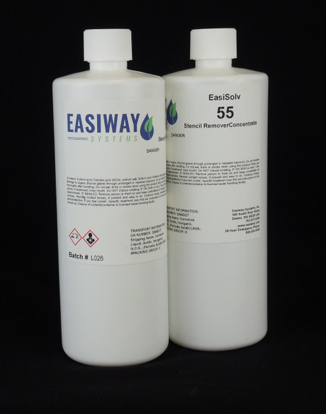 EasiWay - EasiSolv 55 Stencil Remover Concentrate- 1 Quart