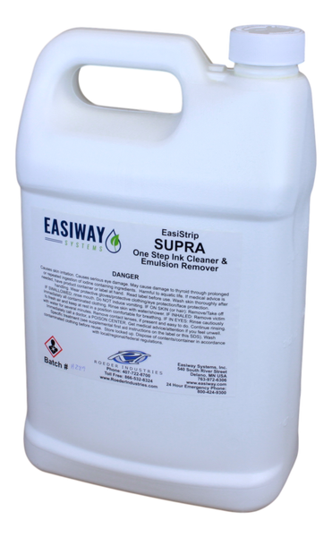 EasiWay - EasiStrip Supra One-Step Ink and Emulsion Remover