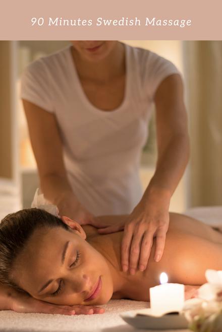 90 Minutes Swedish Massage