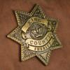 The Walking Dead Sheriff Rick Grime's Desert Black Backback