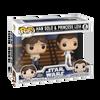 Star Wars: Empire Strikes Back Han and Leia Pop! Vinyl Figure 2-Pack