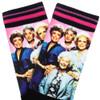 Golden Girls Panel Print Crew Socks