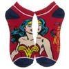 Wonder Woman 5 Pair Ankle Socks Pack