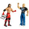 WWE Basic Series 67 Stone Cold Steve Auston & AJ Styles Action Figure 2-Pack