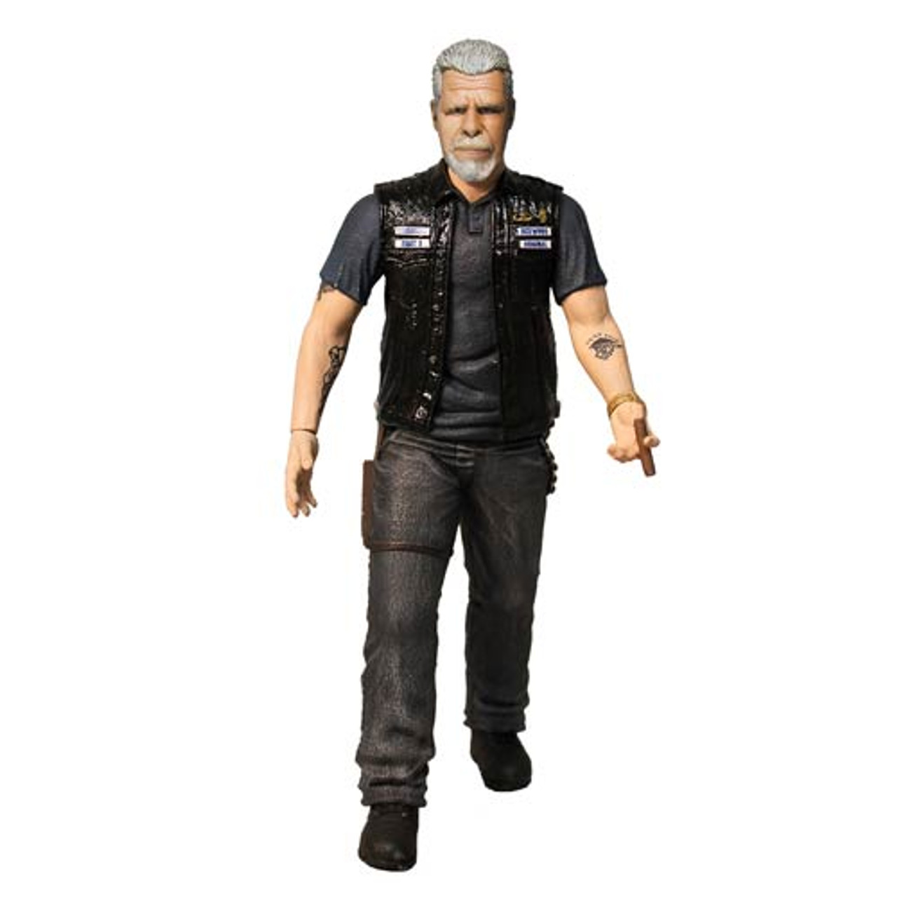 """Sons of Anarchy Clay Morrow 6"""" Figure"""