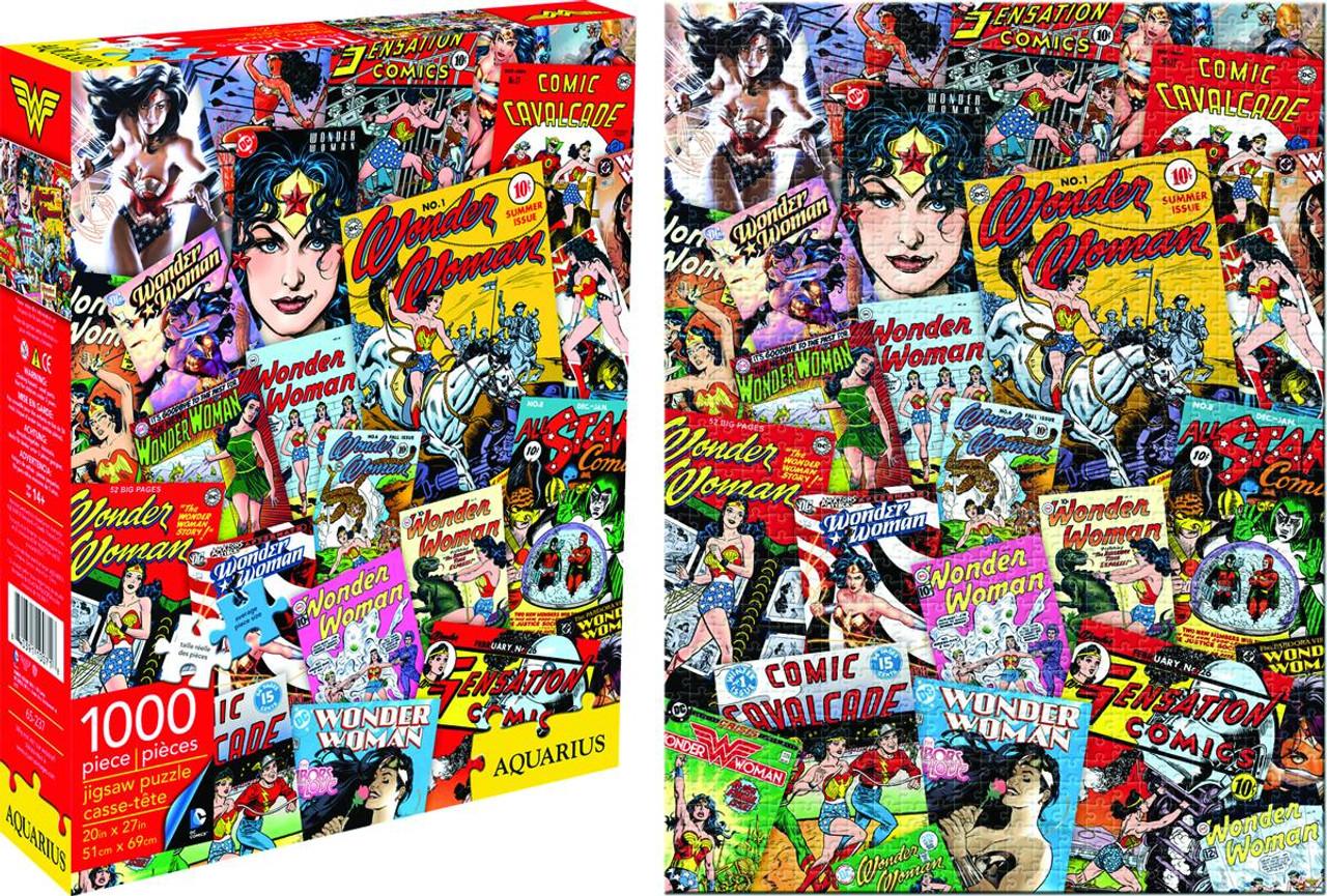 Wonder Woman DC Comics Collage 1,000-Piece Puzzle