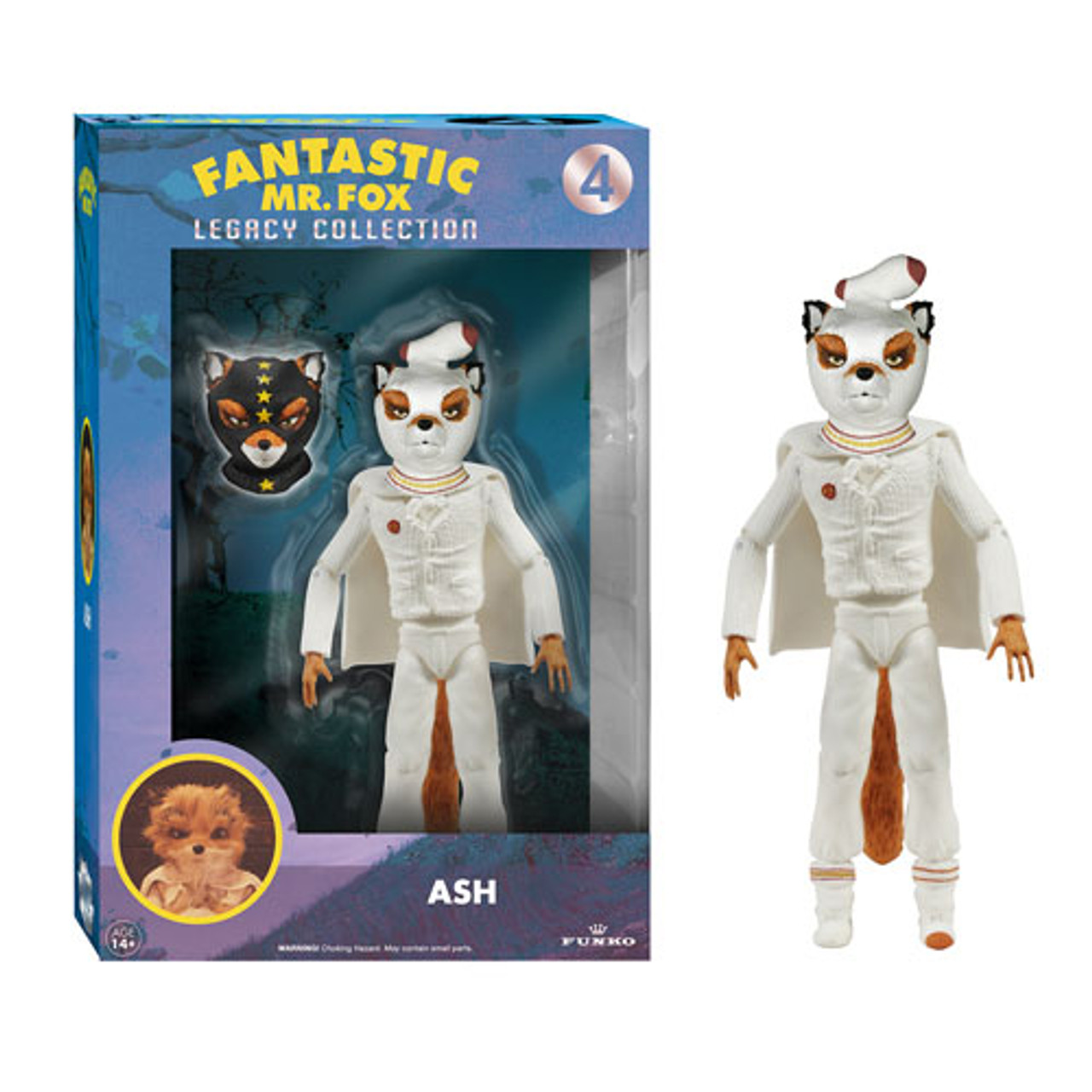 Fantastic Mr Fox Ash Legacy Action Figure Buy At Not Just Toyz