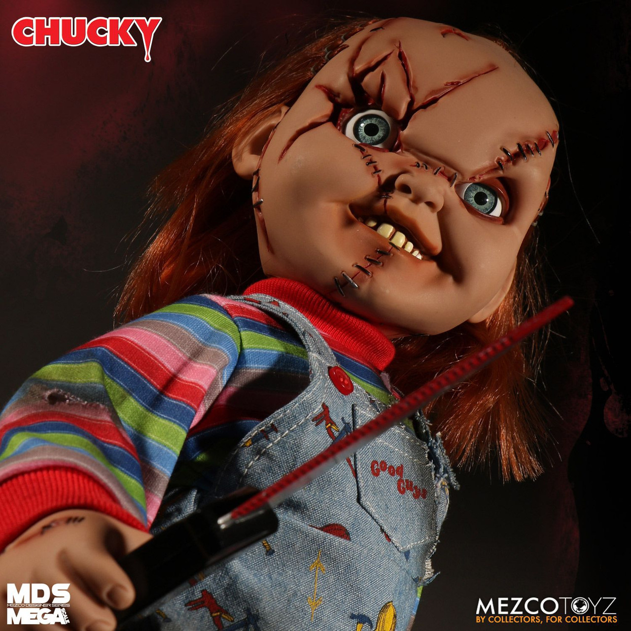 Child/'s Play Sneering Chucky Talking Mega-Scale 15-Inch Doll Official