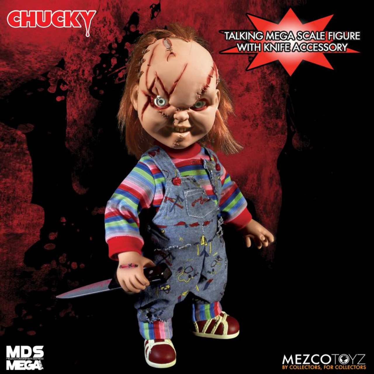 Official Child/'s Play Sneering Chucky Talking Mega-Scale 15-Inch Doll